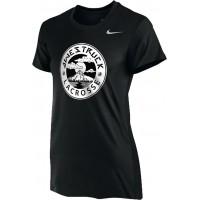 Awestruck 06: Nike Women's Legend Short-Sleeve Training Top - Black