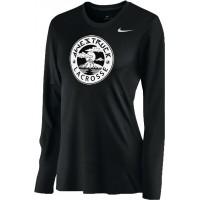 Awestruck 12: Nike Women's Legend Long-Sleeve Training Top - Black