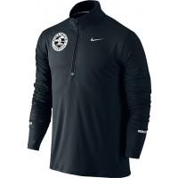 Awestruck 25: Nike Dry Element Men's Half-Zip Long-Sleeve Running Top - Black