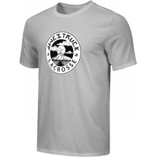 Awestruck 13: Adult-Size - Nike Combed Cotton Core Crew T-Shirt - Gray