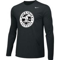 Awestruck 10: Adult-Size - Nike Team Legend Long-Sleeve Crew T-Shirt - Black