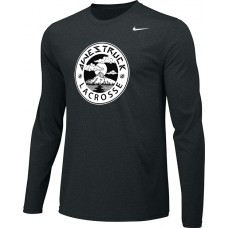 Awestruck 11: Youth-Size - Nike Team Legend Long-Sleeve Crew T-Shirt - Black