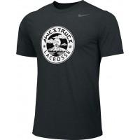 Awestruck 04: Adult-Size - Nike Team Legend Short-Sleeve Crew T-Shirt - Black
