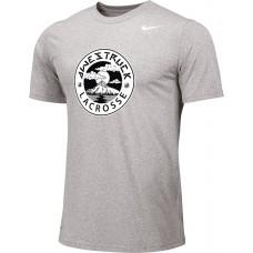 Awestruck 02: Youth-Size - Nike Team Legend Short-Sleeve Crew T-Shirt - Gray